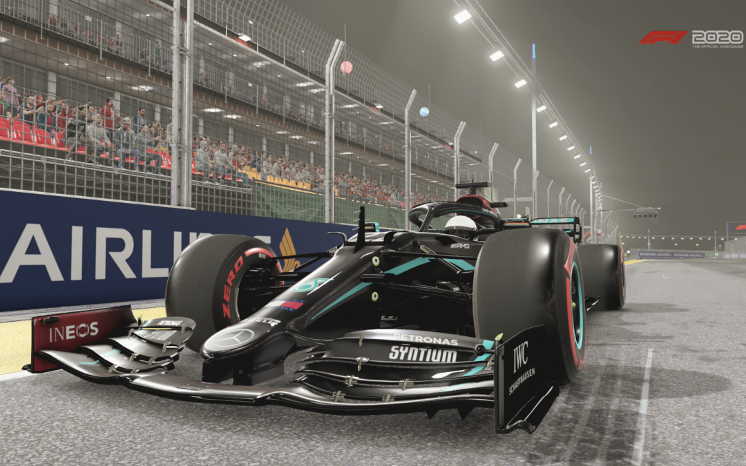Come frenare su F1 2020