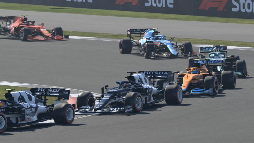 F1 2021 ego dumper