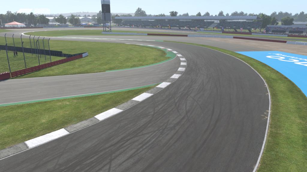 F1 2021: Silverstone Curva 6 Brooklands ADT Esports Academy