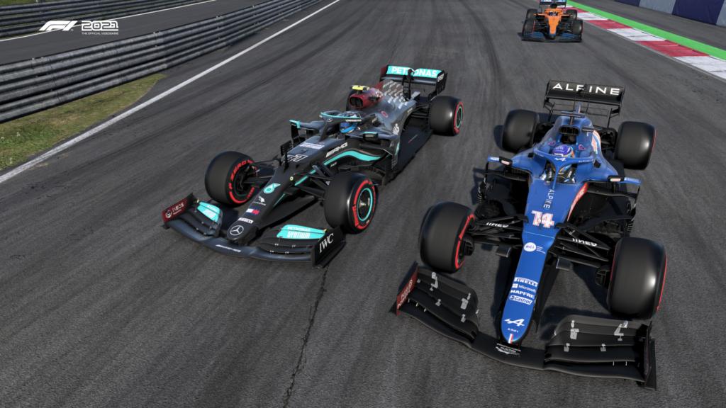 F1 2021 Ego dumper crash