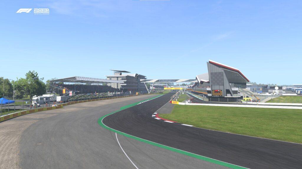 F1 2021: Silverstone Hamilton Straight ADT Esports Academy