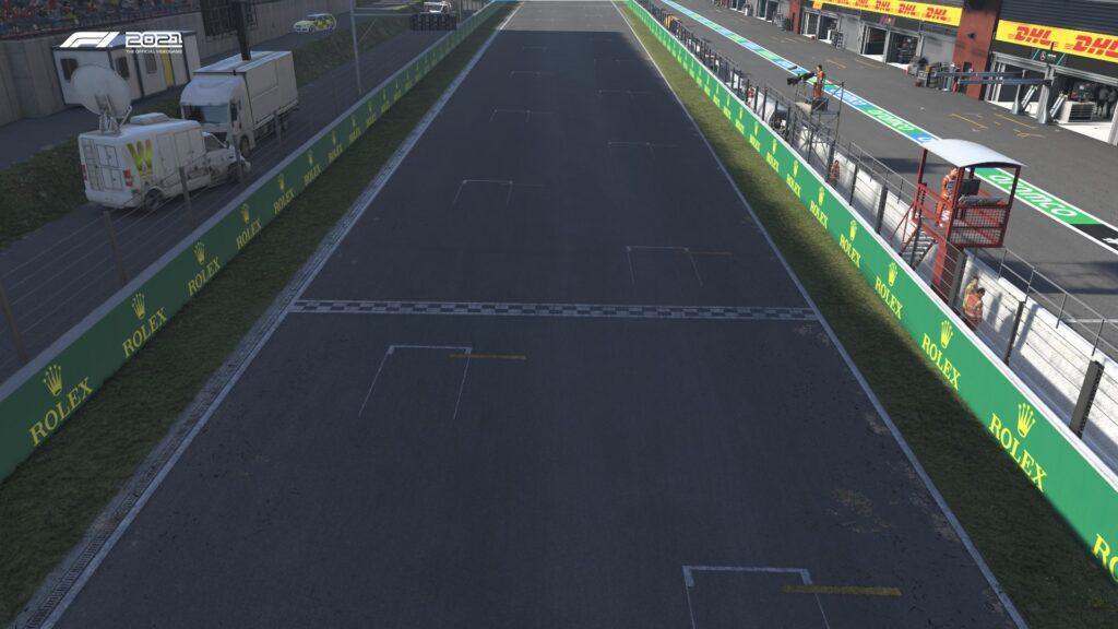 F1 2021 - Spa Guida al Circuito - Rettilineo Principale